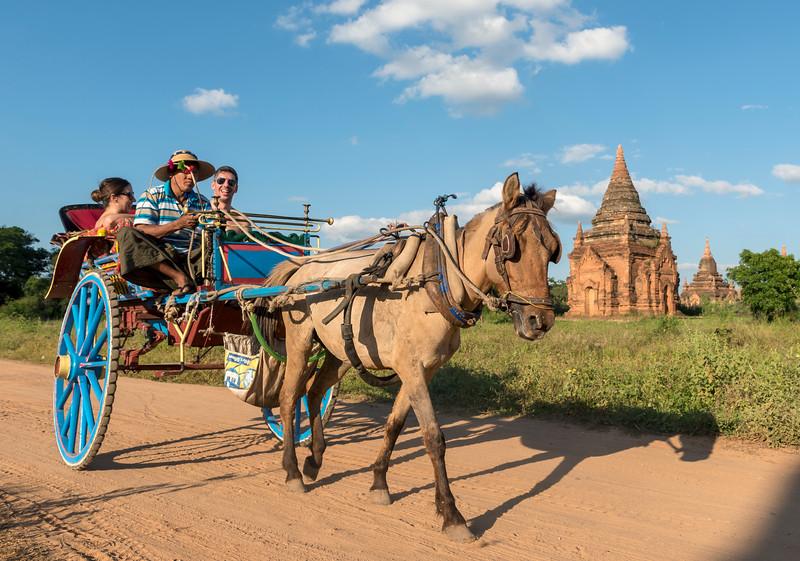 Tourist Horse Cart, Bagan
