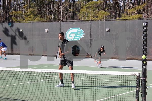 2019 Georgia Gwinnett College Men's Tennis vs. Lander