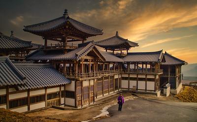 Monastry, Korea 2018