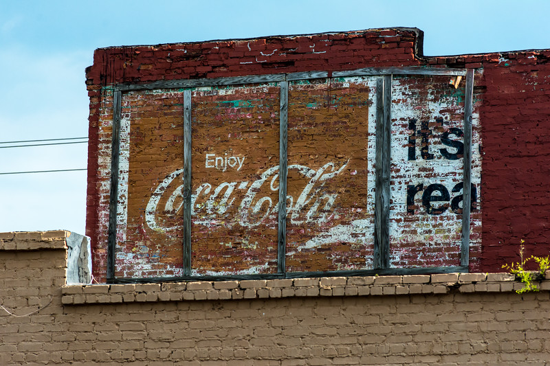 GA, Douglas - Coca-Cola Wall Sign 02
