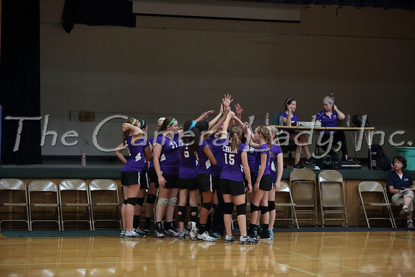 CHCA 2013 Girls MS A Volleyball vs CCD 09.09