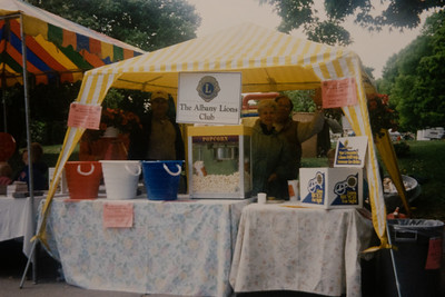 2001 Tulip Festival - Popcorn Sale