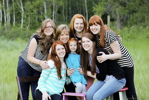 Alyson and Dean Larsen family 2014