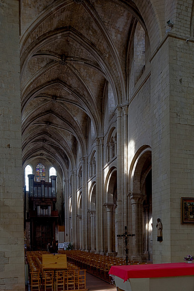 Beauvais Saint-Etienne Church Nave Elevation