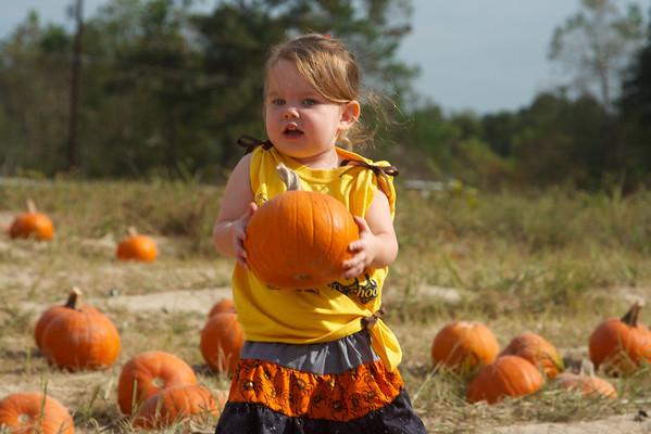 Pumpkin Patch Visit