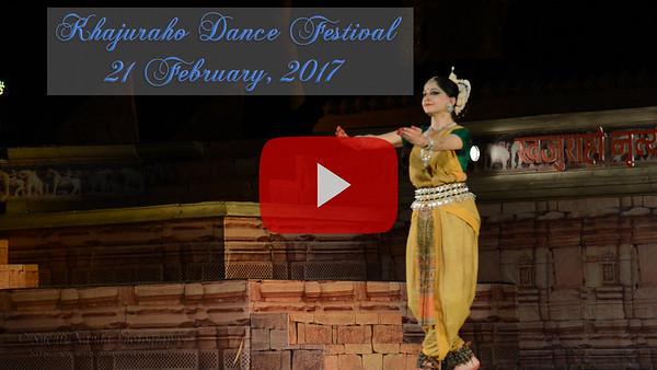 Khajuraho Dance Festival, 21 Feb 2017