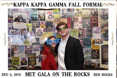 Kappa Kappa Gamma Red Rocks 12-6-2018