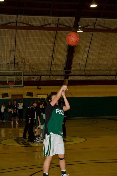 PUC Lady Pioneers Baskettball 2011