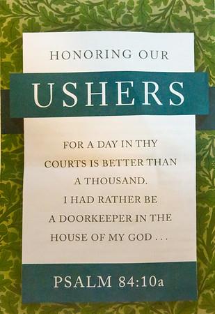 OSBC Ushers Day 2019