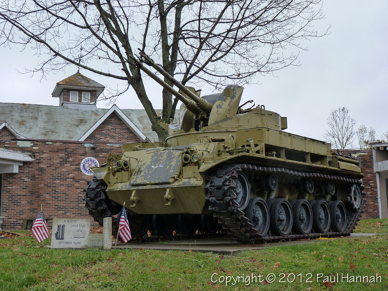 AL Post 64 - Marietta, OH - M42A1 & 2 Japanese Type 91 105mm Howitzers