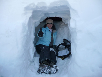 Snow Camping - Mt. Hood - February 8, 2009