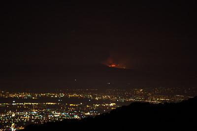Mt Diablo Fire