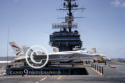 US Navy North American Aviation RA-5C Vigilante Airplane Aircraft Carrier Pictures