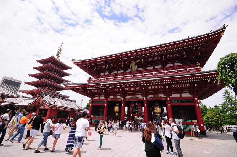 Sensoji Temple. Editorial credit: pptadd / Shutterstock.com
