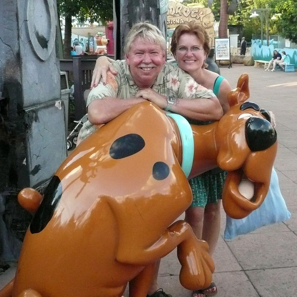 Joy & Me with spotted bug!.jpg