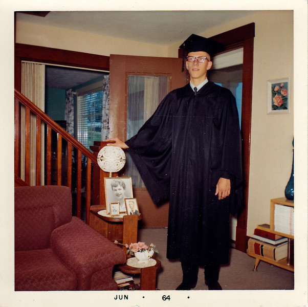 Larry Graduation
