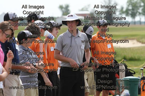 2011 Van Buren Golf Camp Day One
