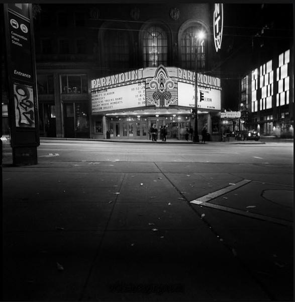 Seattle Paramount Theatre, October 1, 2017