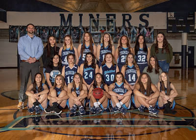 THS Lady Miners Basketball  2019 / 2020