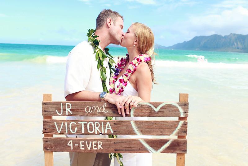 Victoria and JR