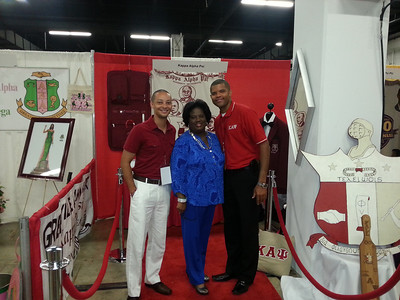 2013 Kappas at the Black Expo