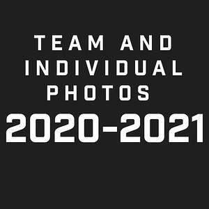 Team and Individual photos 2020 - 2021