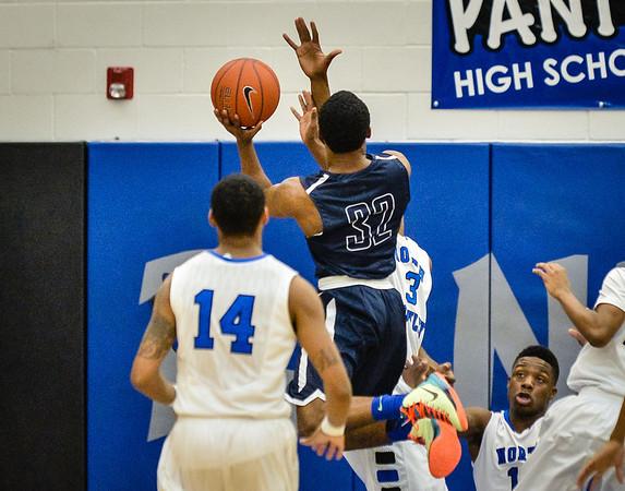 Basketball Boys Varsity vs  Lamar 01-21-14-17