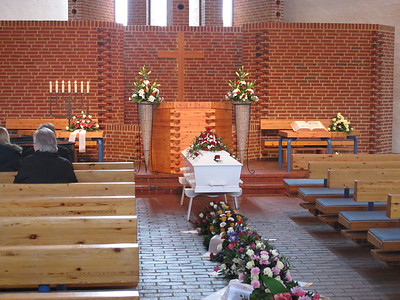 20140108 Johanne Eskildsen begravelse
