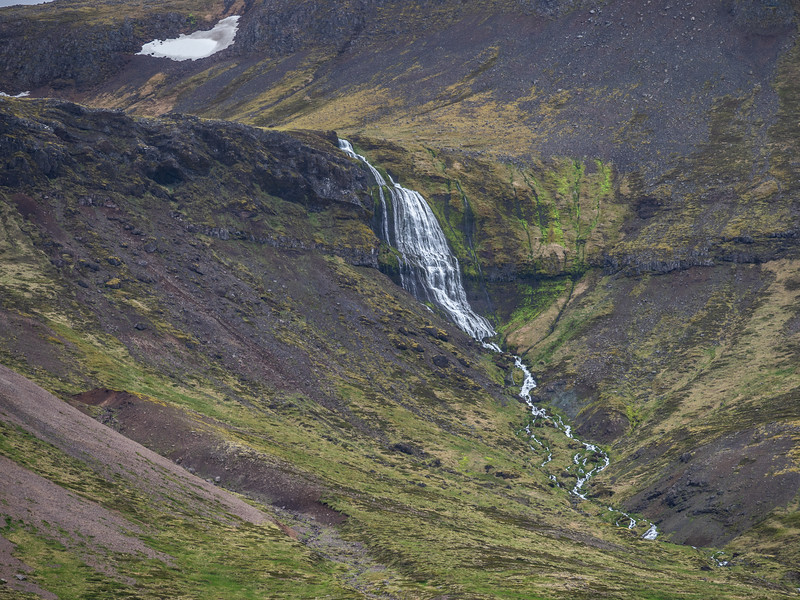 Small Iceland Waterfall  Photography by Wayne Heim