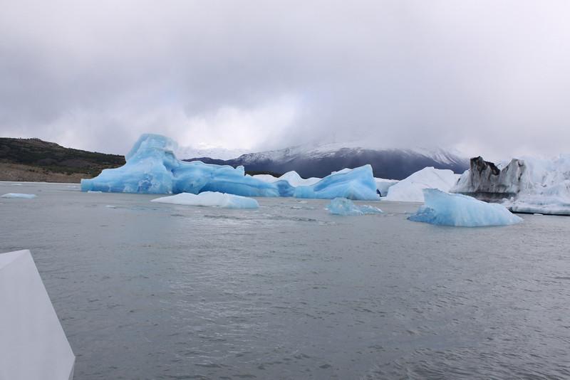 passage through icebergs