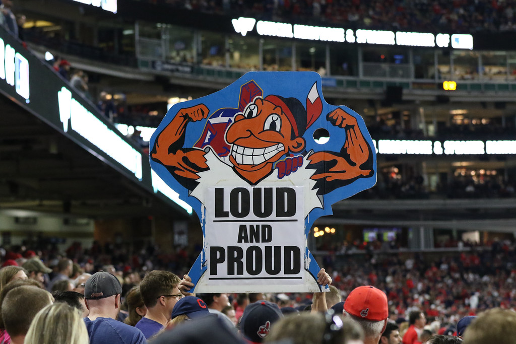 . Scenes from Game 1 of the American League Division Series between the Indians and the Yankees on Oct. 5, 2017, at Progressive Field. (Tim Phillis - The News-Herald)
