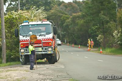 Hazard Reduction Burn - Terrey Hills Sun 23 Oct 2011