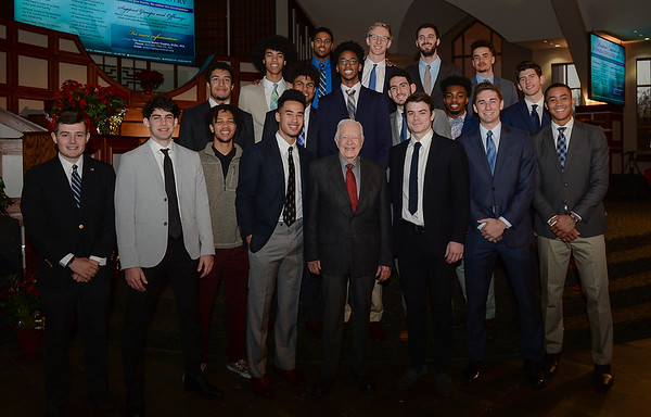 12/30/18:  Harvard Basketball visits Ebenezer Baptist Church