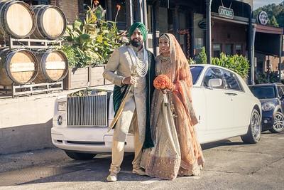 Kj + Raman Wedding
