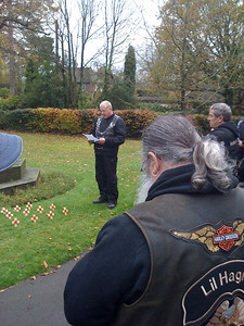 Remembrance Ride, 8 Nov