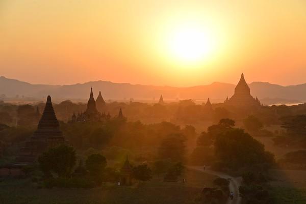 Pagodas & Temples - Bagan, Myanmar