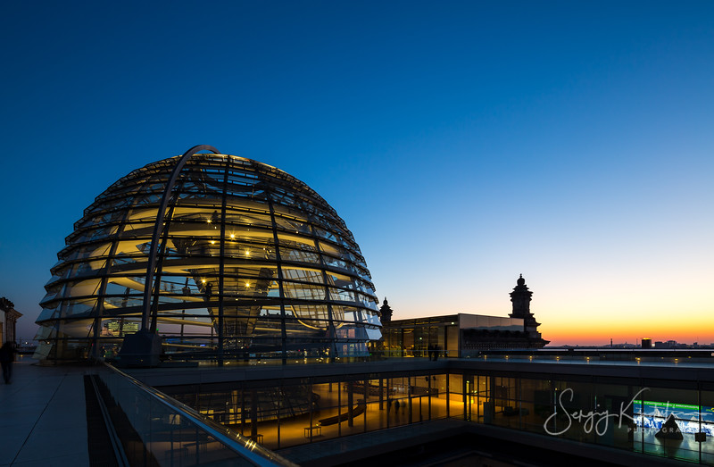 Dome of Reichstag, Berlin