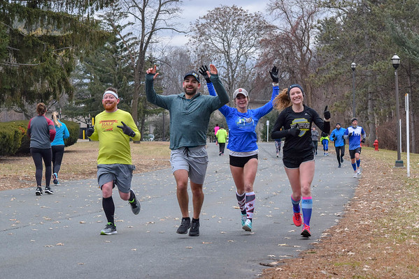 Hangover Half Marathon and Bill Hogan Memorial 3.5 Miler