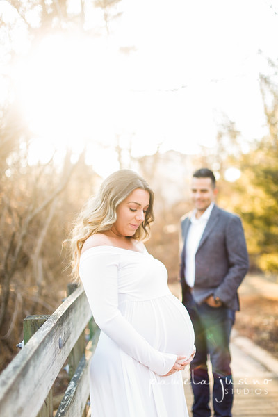 Jessica + John's Maternity Session