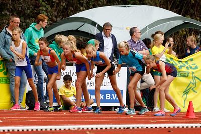 Meisjes D 1000m