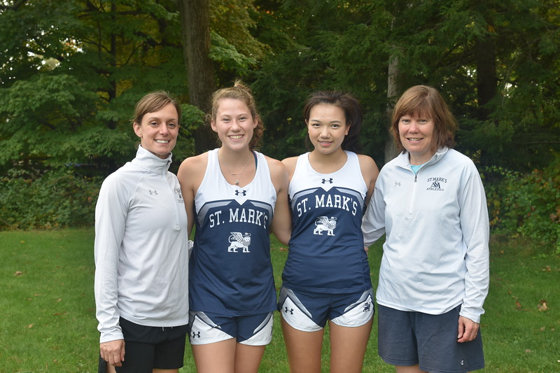 Girls XC captains coaches.JPG