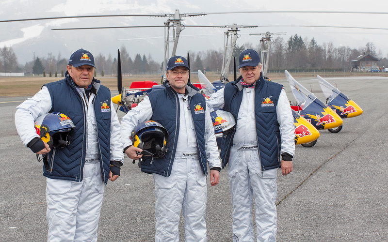 Red Bull Rotorwingsformationsteam