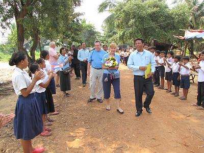 Danny & Pam's Spitler School Visit 2013
