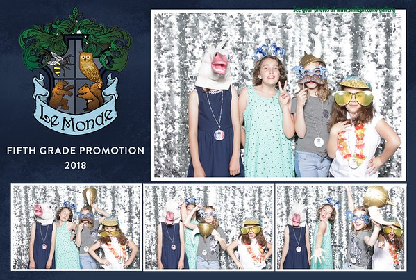 LeMonde 5th Grade Promotion 2018