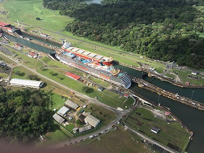 Panama Canal Passage January 2017