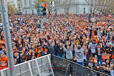 2012 SF Giants World Series Championship Celebration-The Fans