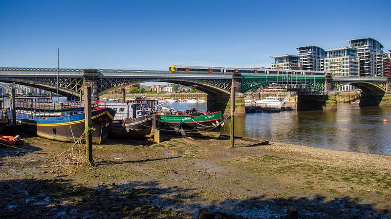 West London Line Overground bridge