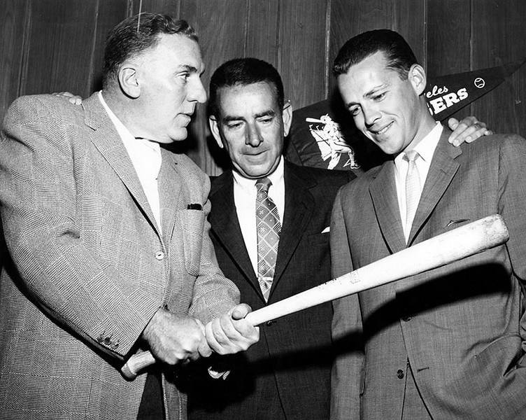1958, Bendix Bats for Dodger Stadium
