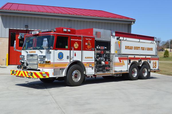 Company 13 - Glenwood station (Woodbine, MD)