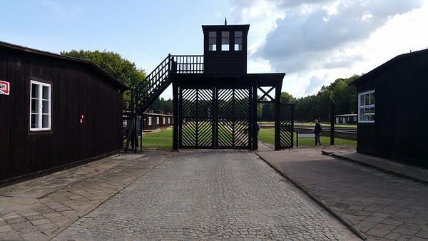 Stutthof concentration camp Poland 2017.